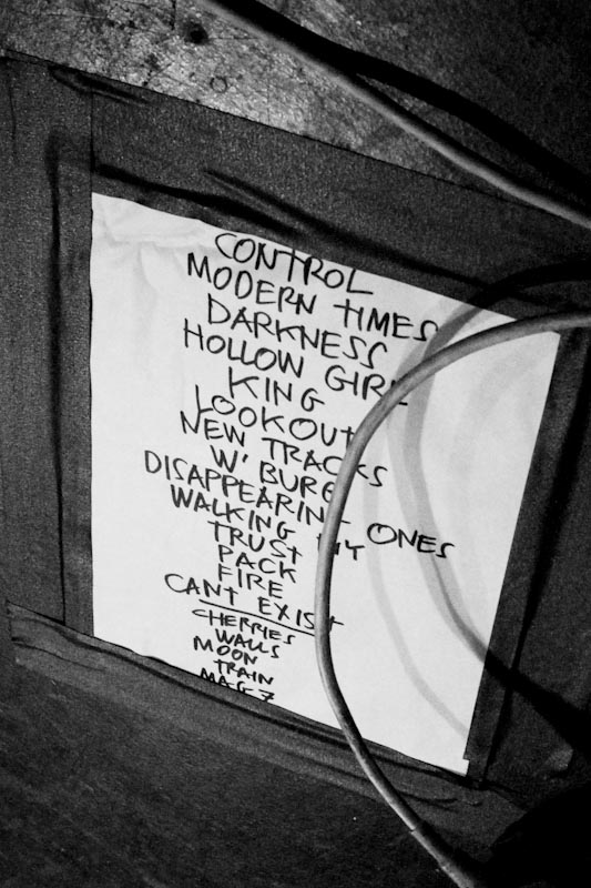 RNDM 5/8/13 Set List