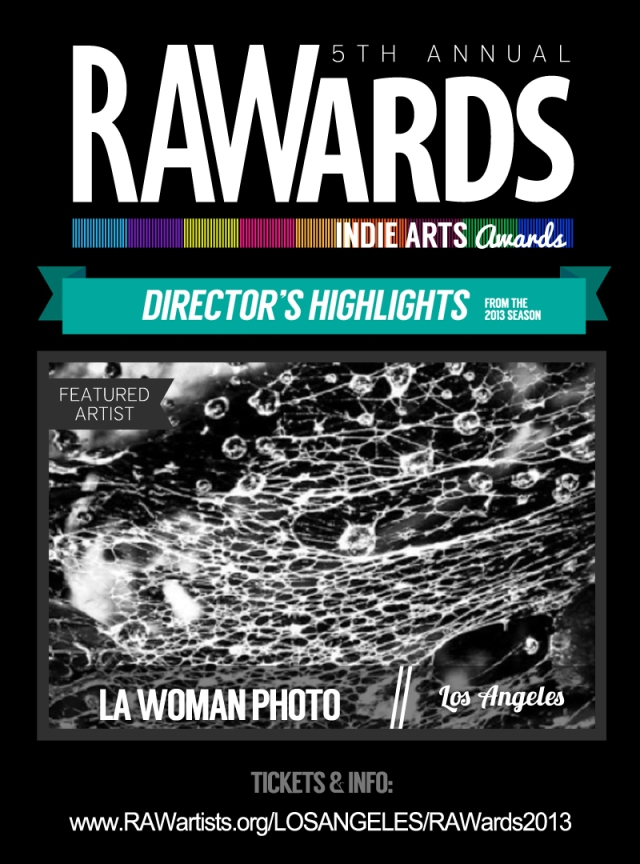 Director's Highlight, RAWards 11/14/13 Belasco Theater, Los Angeles