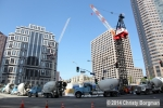 Wilshire Grand construction, 2/16/2014