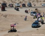 Patriot Guard procession bringing Leonard home, 3/15/14