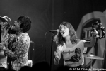 The Mowgli's at the Troubadour 7/8/14 West Hollywood, CA