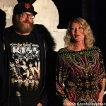 Brian Posehn and Leslie Easterbrook at 10th Annual Johnny Ramone Tribute
