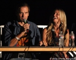 Bill Moseley and Sheri Moon Zombie at 10th Annual Johnny Ramone Tribute