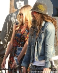Sheri Moon Zombie and Rob Zombie at 10th Annual Johnny Ramone Tribute