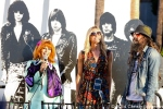 Linda Ramone, Sheri Moon Zombie and Rob Zombie at 10th Annual Johnny Ramone Tribute