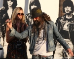 Sheri Moon Zombie, Rob Zombie at 10th Annual Johnny Ramone Tribute