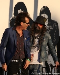 Slim Jim Phantom and Rob Zombie at 10th Annual Johnny Ramone Tribute