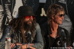 Rob Zombie and Duff McKagan at 10th Annual Johnny Ramone Tribute