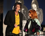 Mickey Leigh and Linda Ramone at 10th Annual Johnny Ramone Tribute