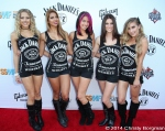 Jack Daniel's girls attending the Jane's Addiction Honoree event 9/19/14 at the House of Blues in West Hollywood, CA