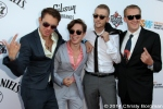 Strangers You Know attending the Jane's Addiction Honoree event 9/19/14 at the House of Blues in West Hollywood, CA