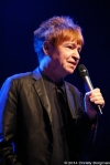 Rodney Bingenheimer speaking at the Jane's Addiction Honoree event 9/19/14 at the House of Blues in West Hollywood, CA