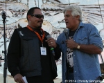 Emilio Rivera and Jay Leno at Love Ride 31 for MDA. Castaic Lake, CA 10-25-14