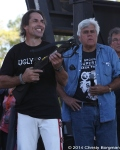 Freddy Nock and Jay Leno at Love Ride 31 for MDA. Castaic Lake, CA 10-25-14