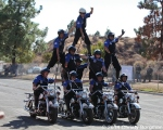 Victor McLaglen Motor Corps at Love Ride 31 for MDA. Castaic Lake, CA 10-25-14
