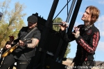 Buckcherry at Love Ride 31 for MDA. Castaic Lake, CA 10-25-14