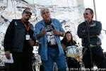 Emilio Rivera, Jay Leno and Robert Patrick at Love Ride 31 for MDA. Castaic Lake, CA 10-25-14