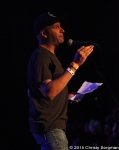 Tom Morello introducing Babes in Toyland at the Roxy in West Hollywood, CA 2/12/15