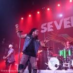 Sevendust, Belasco Theater Los Angeles, CA 10/26/2016