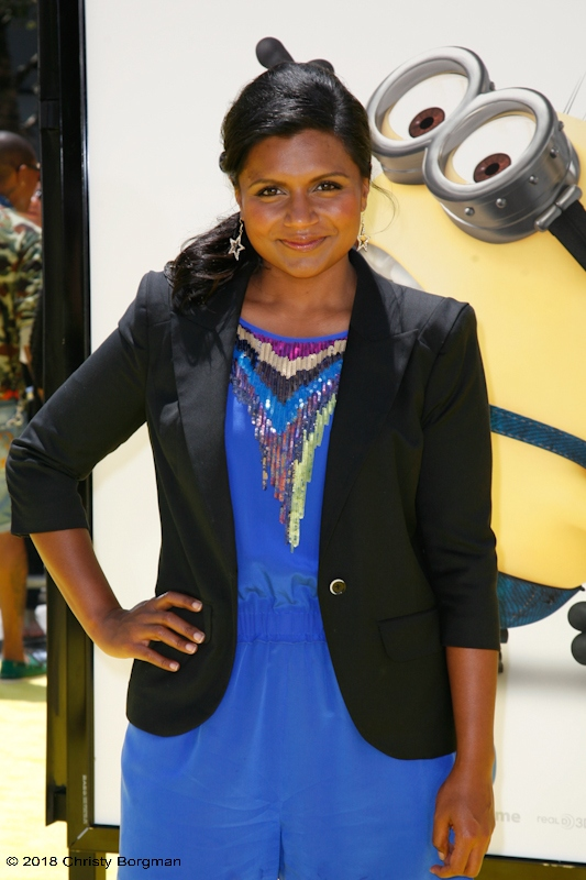 June 27 2010 Mindy Kaling Attending The Despicable Me Premiere In Los Angeles Ca La Woman Photography